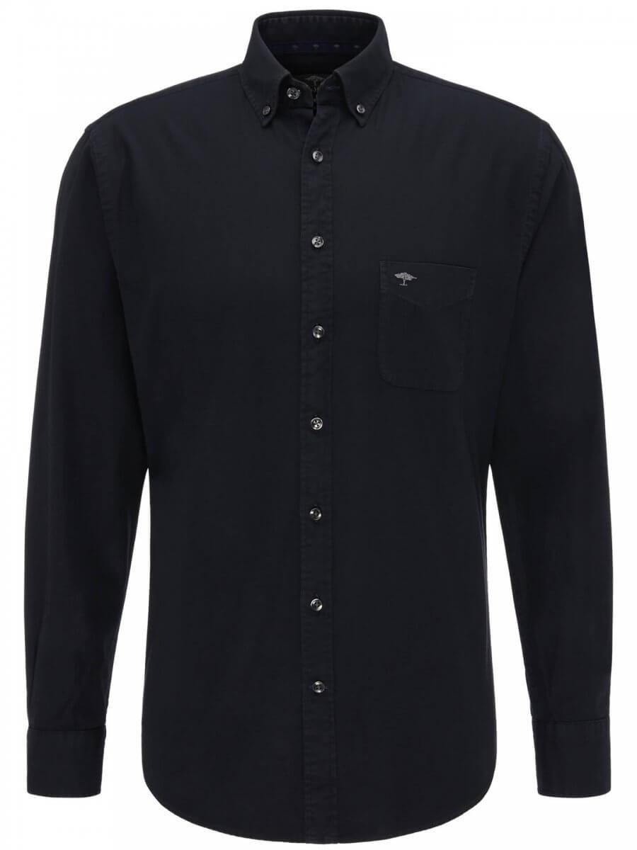 Fynch Hatton Garment Dyed Shirt | Davids Of Haslemere