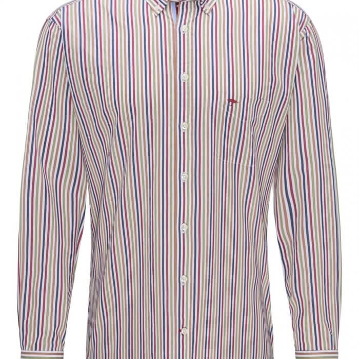 Fynch Hatton Striped Shirt | Davids Of Haslemere