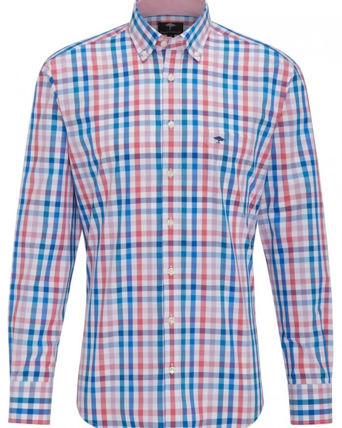 Fynch Hatton Check Shirt | Davids Of Haslemere