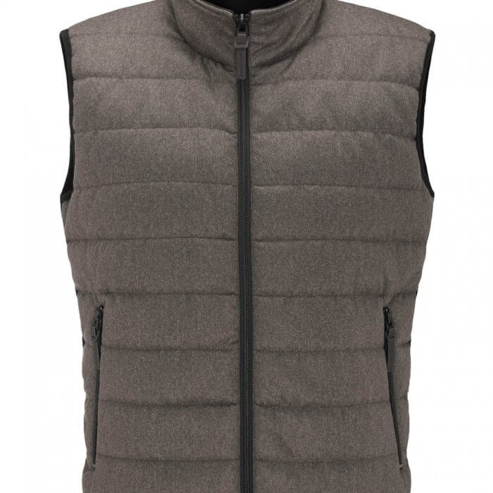 Fynch Hatton Hybrid Vest Liquor | Davids Of Haslemere