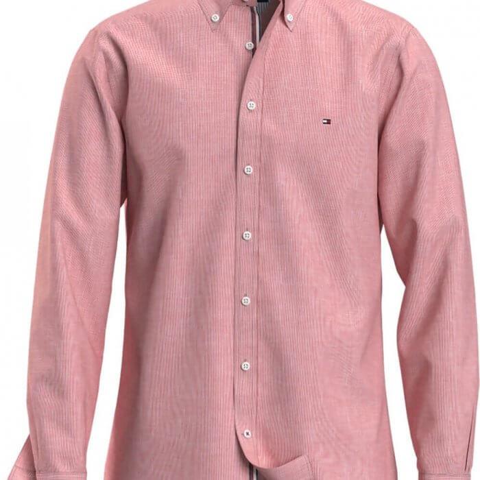 Tommy Hilfiger Long Sleeve Shirt   Davids Of Haslemere