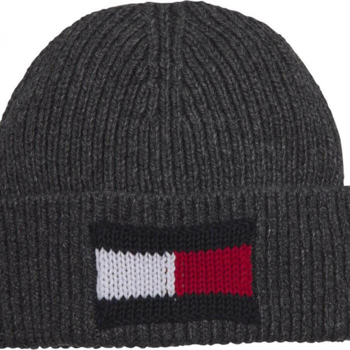 Tommy Hilfiger Ribbed Beanie | Davids Of Haslemere