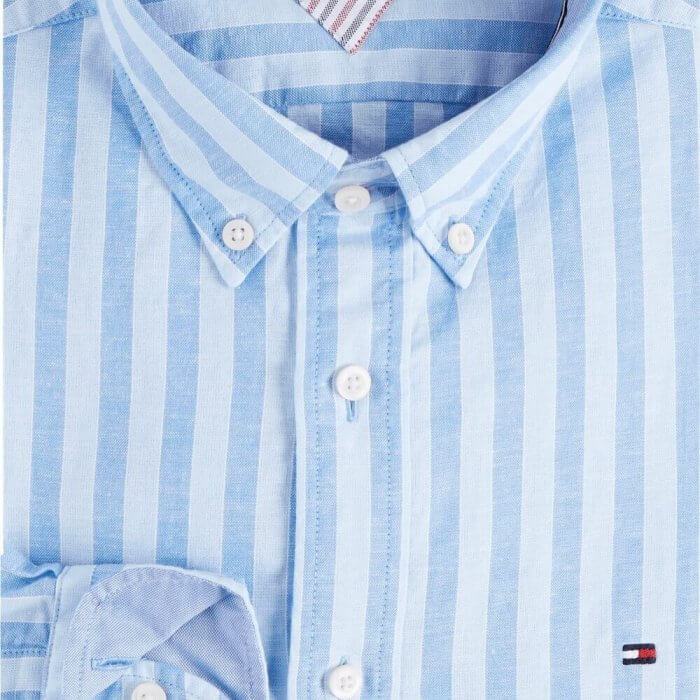 Tommy Hilfiger Striped Shirt   Davids Of Haslemere