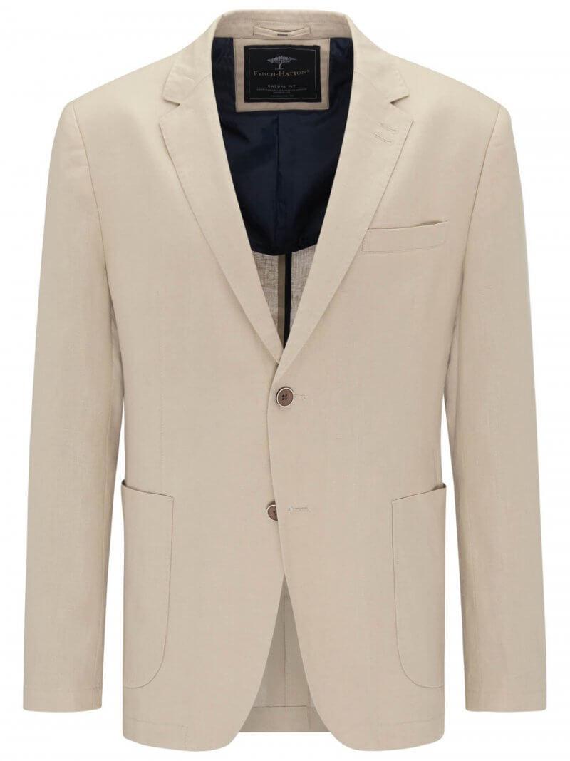 Fynch Hatton Pure Linen Blazer | Davids Of Haslemere