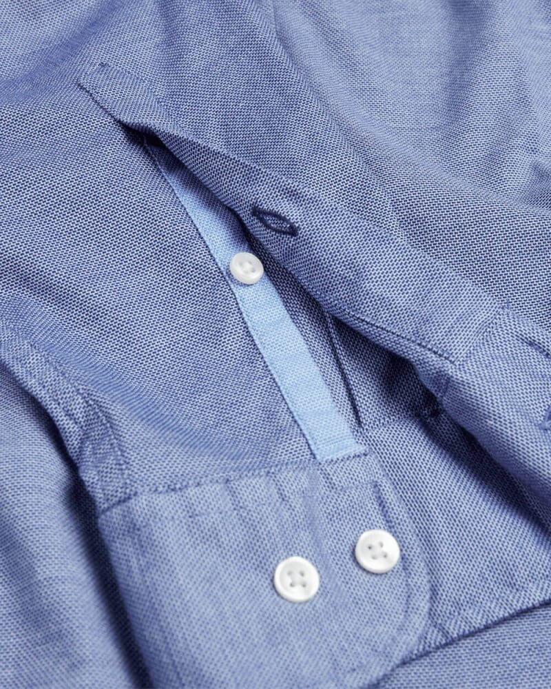 Tommy Hilfiger Flex Cotton Dobby Shirt | Davids Of Haslemere