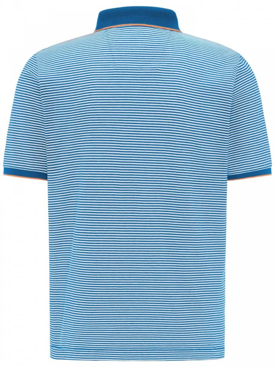 Fynch Hatton Striped Polo Shirt   Davids Of Haslemere