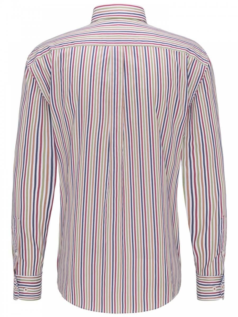Fynch Hatton Striped Shirt | Davids Of Haslemere
