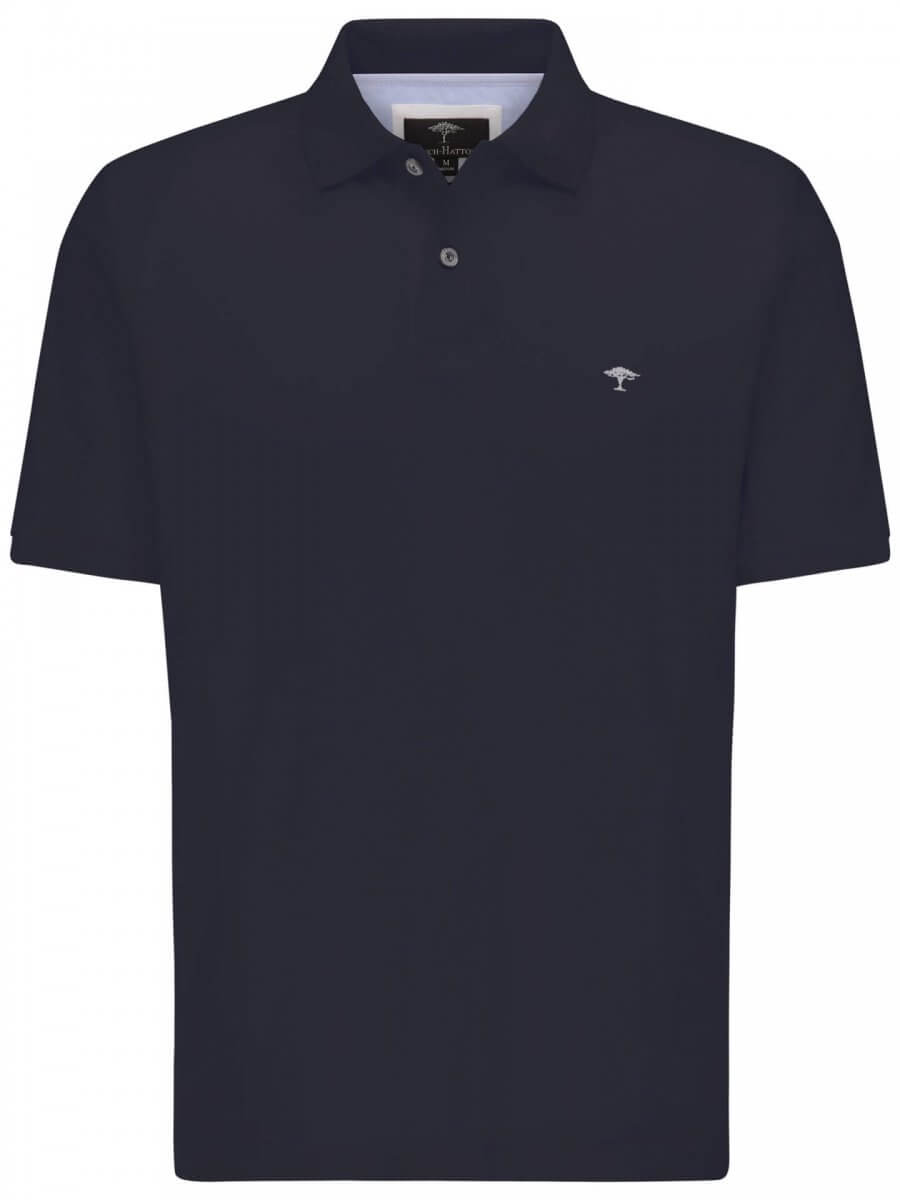 Fynch Hatton Interlock Collar Polo | Davids Of Haslemere
