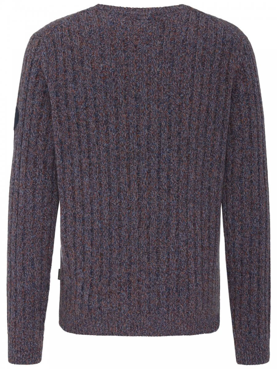 Fynch Hatton O Neck Wool Jumper | Davids Of Haslemere