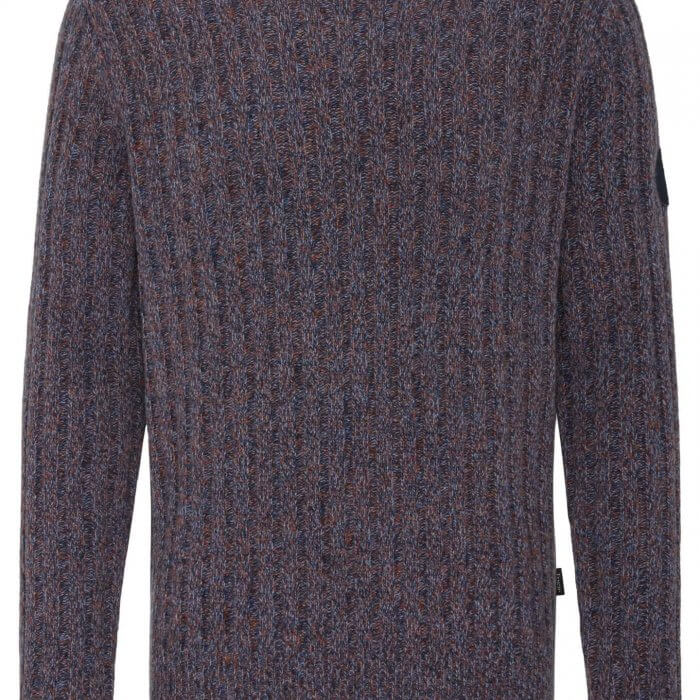 Fynch Hatton O Neck Wool Jumper | Davids Of Haslemere