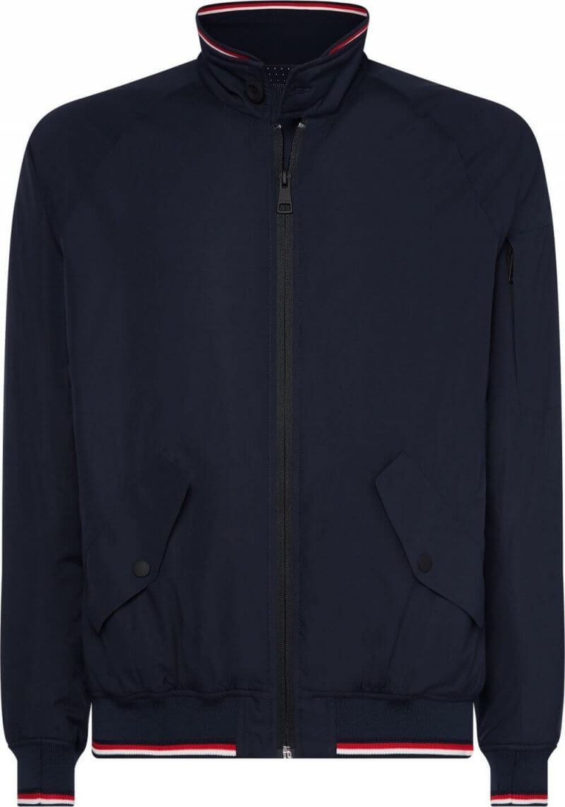 Tommy Hilfiger Zipped Jacket | Davids Of Haslemere