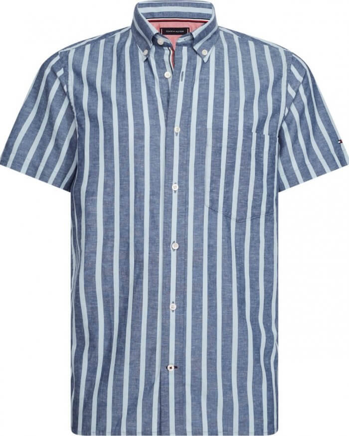 Tommy Hilfiger Striped Shirt | Davids Of Haslemere