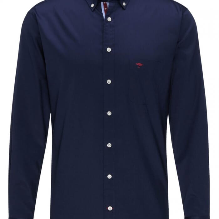 Fynch Hatton Maritime Shirt Navy | Davids Of Haslemere