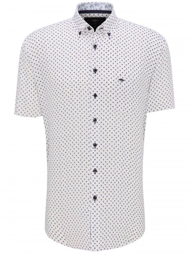Fynch Hatton Soft Linen Cotton Shirt | Davids Of Haslemere