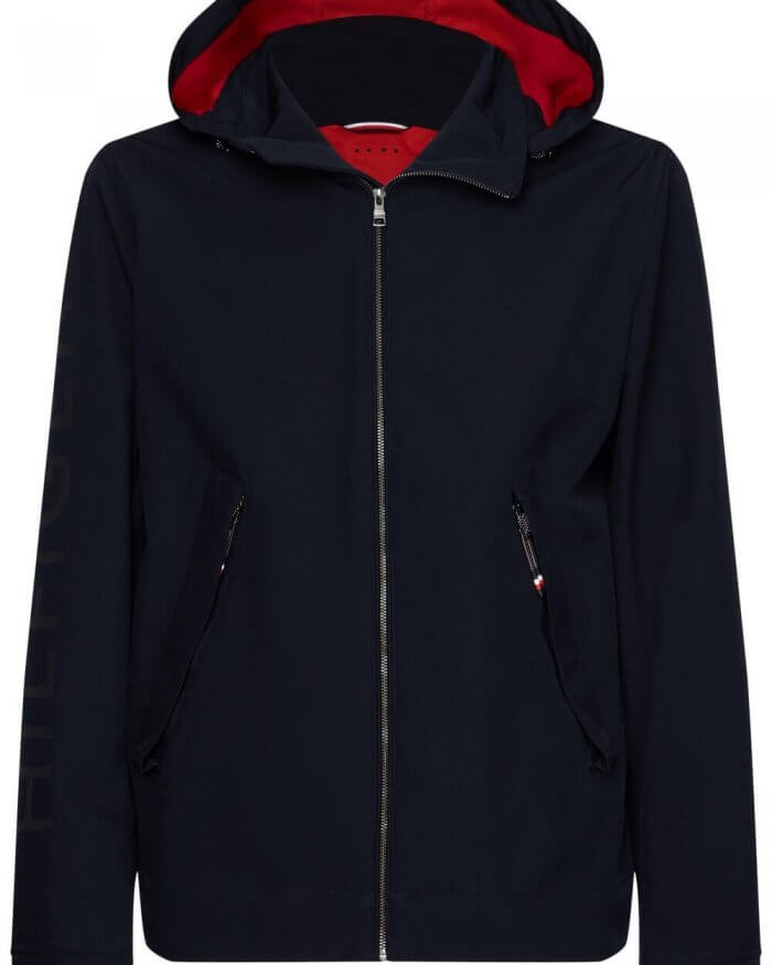 Tommy Hilfiger Hooded Jacket | Davids Of Haslemere