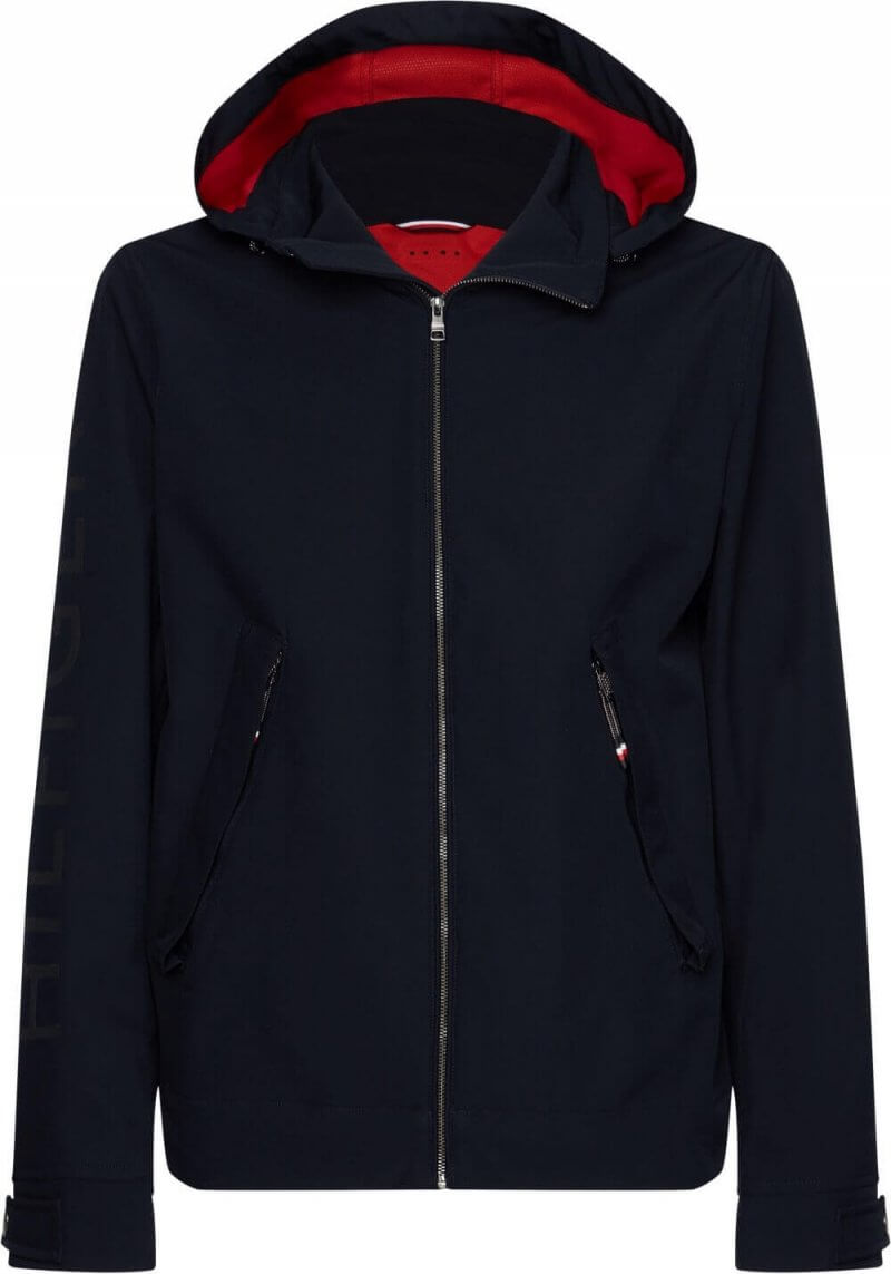 Tommy Hilfiger Hooded Jacket   Davids Of Haslemere