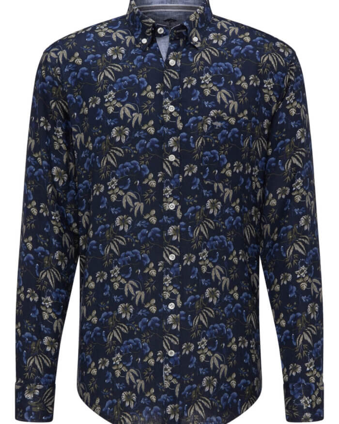 Fynch Hatton Floral Print Shirt | Davids Of Haslemere