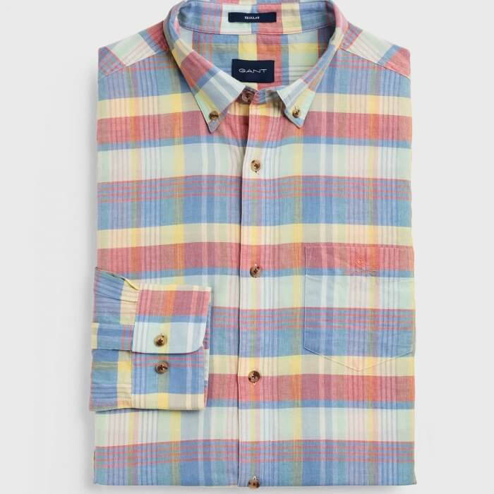 Gant Check Shirt | Davids Of Haslemere