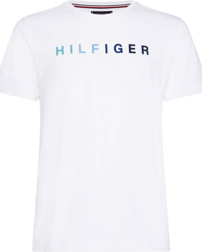 Tommy Hilfiger Printed T-Shirt | Davids Of Haslemere