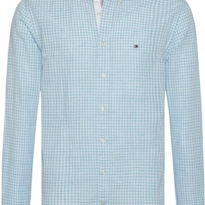 Tommy Hilfiger Small Check Shirt | Davids Of Haslemere