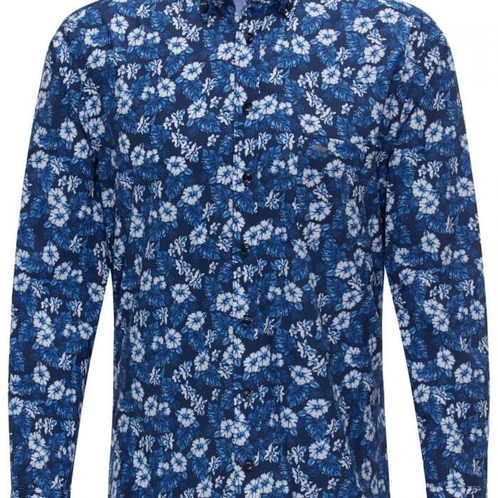 Fynch Hatton Floral Print Shirt | Davids Of Haslemere