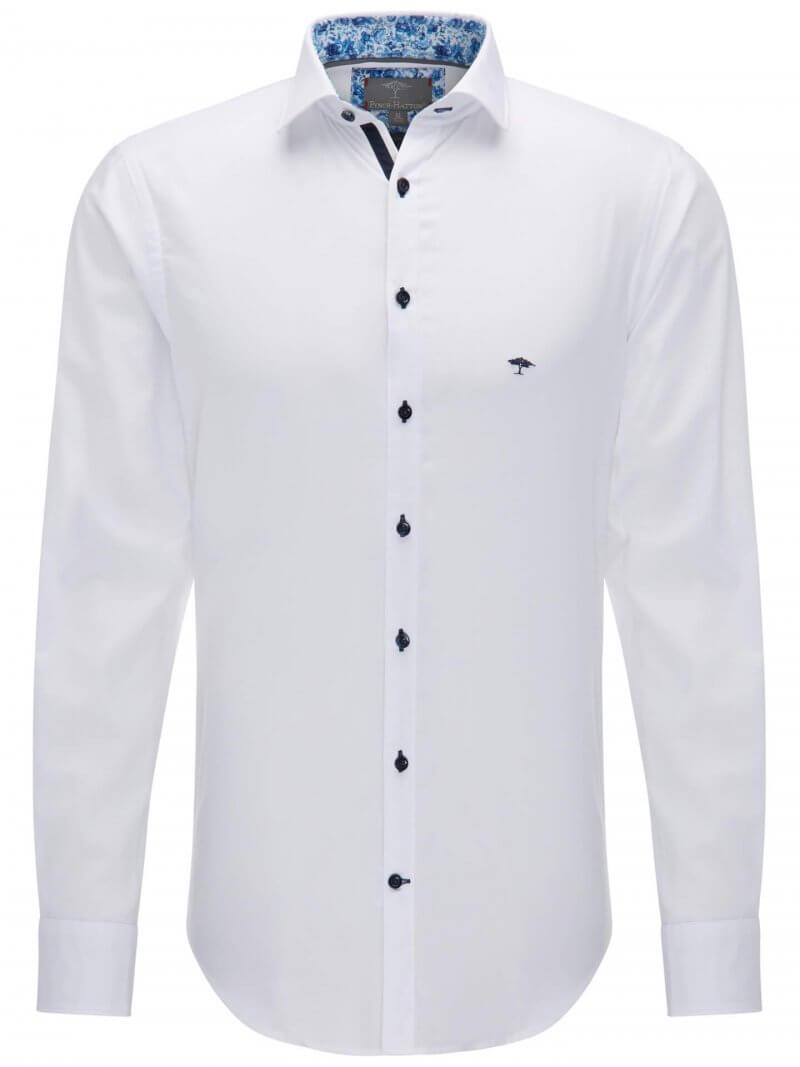 Fynch Hatton White Shirt | Davids Of Haslemere
