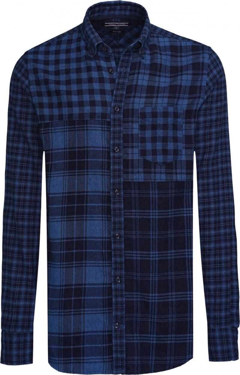 Tommy Hilfiger Patchwork Shirt | Davids Of Haslemere
