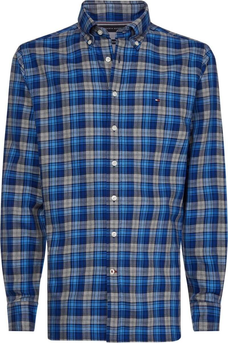 Tommy Hilfiger Check Shirt | Davids Of Haslemere
