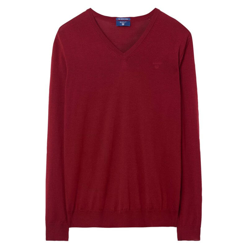 Gant V Neck Jumper | Davids Of Haslemere