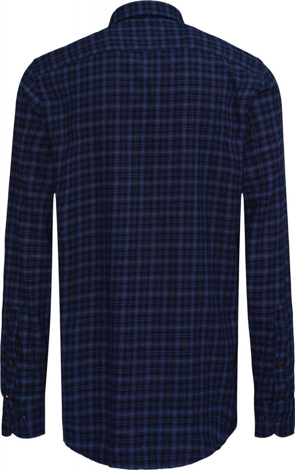 Tommy Hilfiger Patchwork Shirt   Davids Of Haslemere