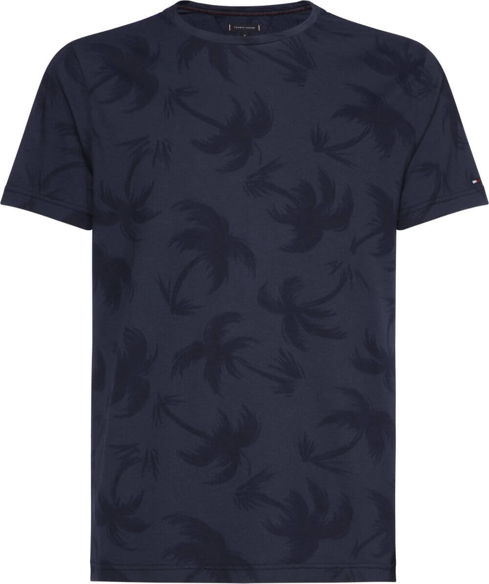 Tommy Hilfiger Palm Tree T-Shirt   Davids Of Haslemere