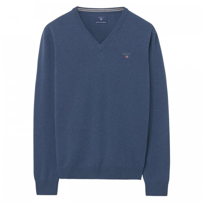 Gant V-Neck Jumper | Davids Of Haslemere