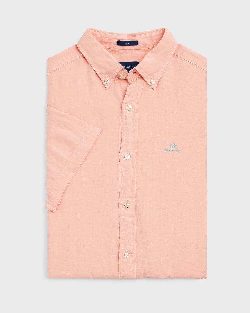 Gant Short Sleeve Shirt | Davids Of Haslemere