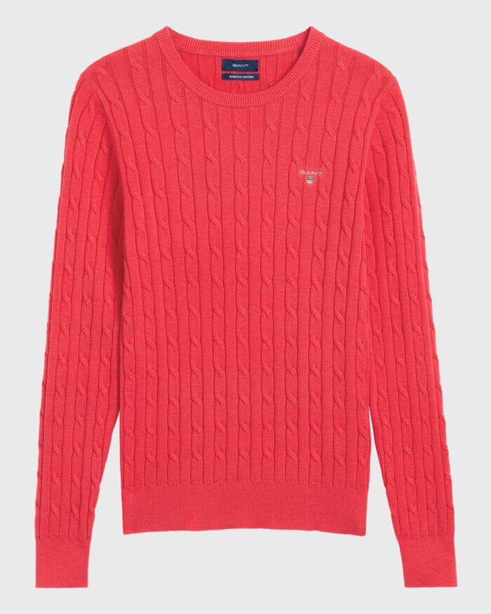 Gant Ribbed Jumper | Davids Of Haslemere