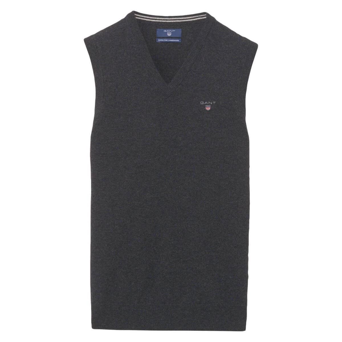 Gant Vest Sweater | Davids Of Haslemere