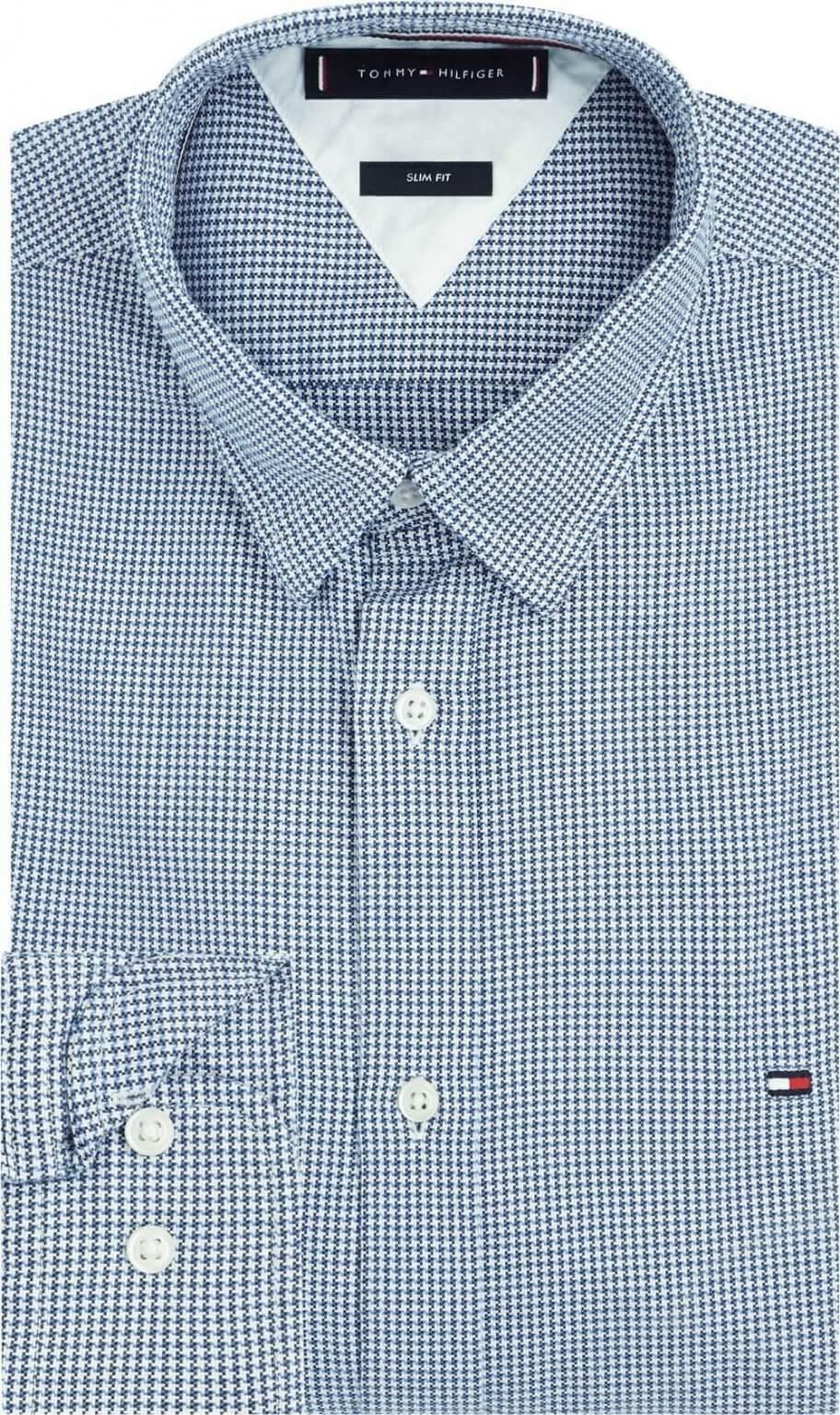 Tommy Hilfiger Slim Fit Shirt | Davids Of Haslemere