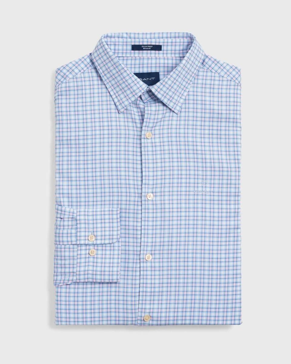 Gant Small Check Shirt | Davids Of Haslemere