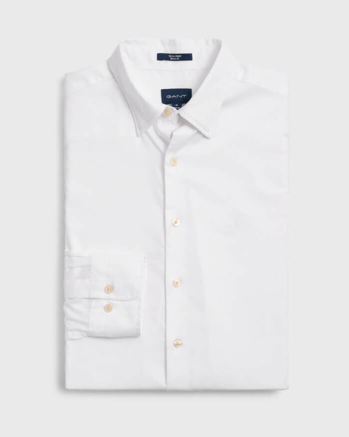 Gant White Shirt | Davids Of Haslemere