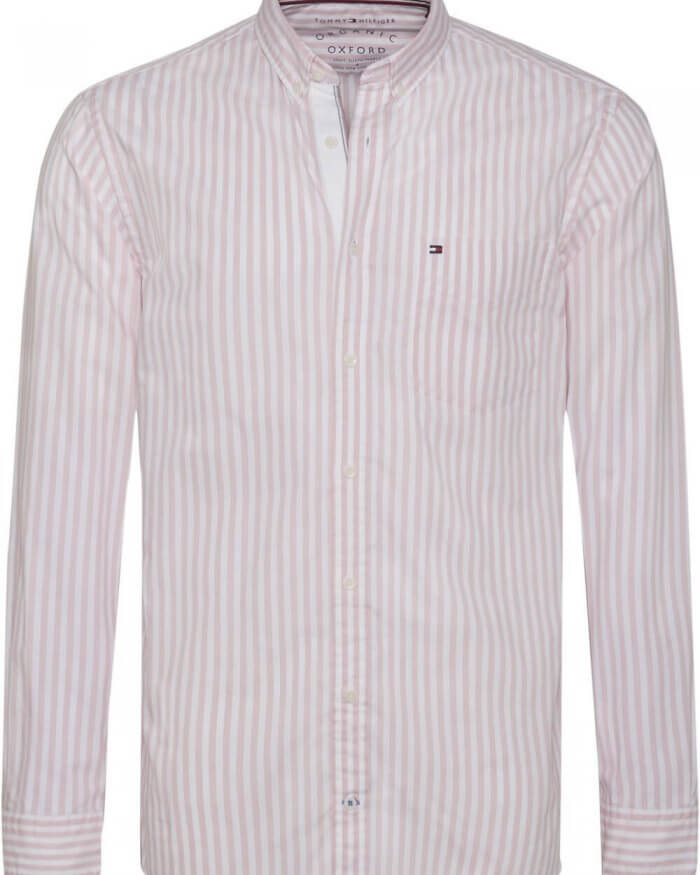 Tommy Hilfiger Striped Oxford Shirt | Davids Of Haslemere