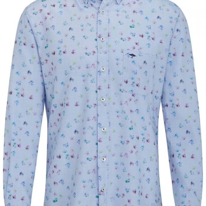 Fynch Hatton Patterned Shirt | Davids Of Haslemere