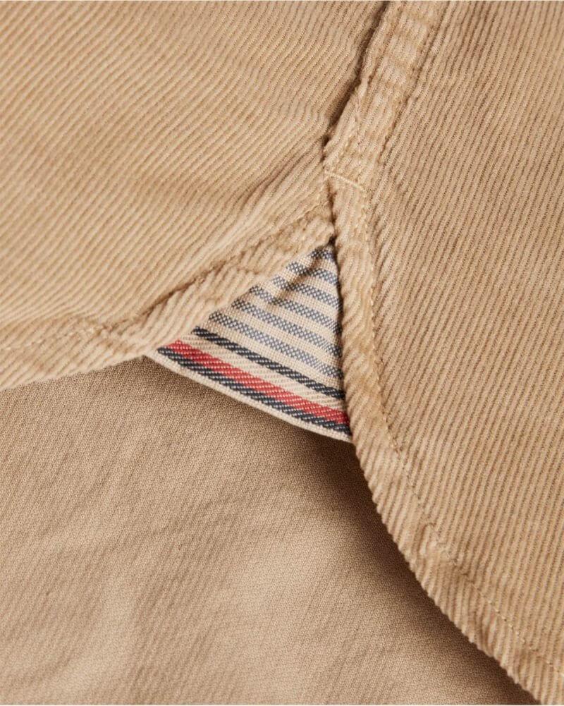 Tommy Hilfiger Corduroy Shirt | Davids Of Haslemere
