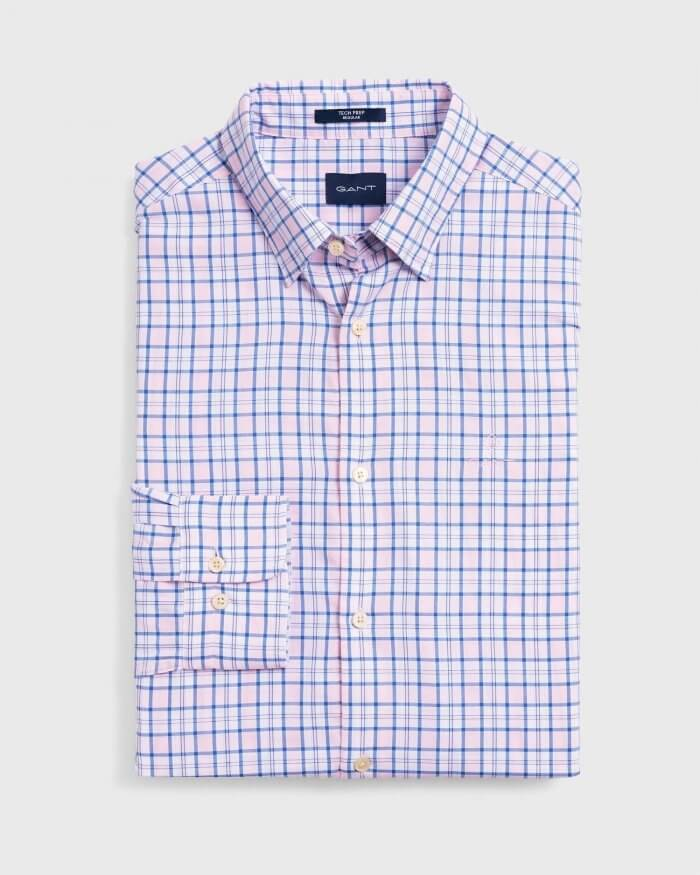 Gant Small Check Shirt | Davids Of Haslemere