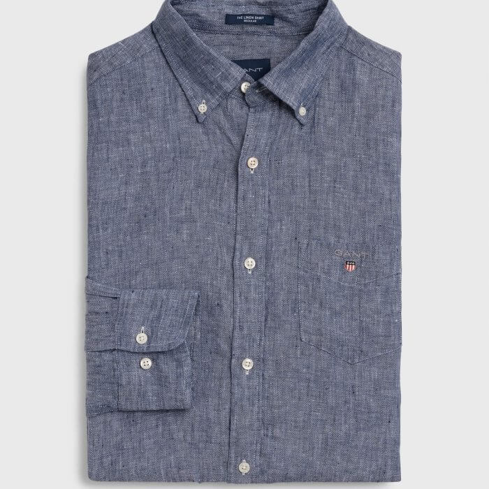 Gant Long Sleeve Shirt | Davids Of Haslemere