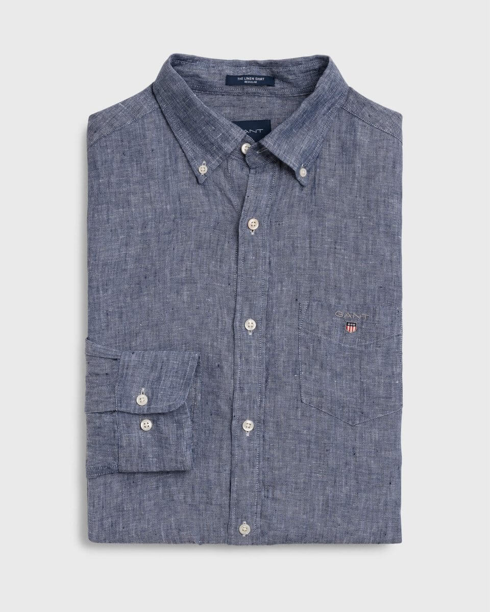 Gant Long Sleeve Shirt | Davids Of Haslemere