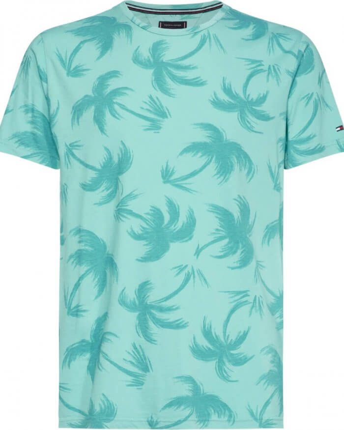 Tommy Hilfiger Palm Tree T-Shirt | Davids Of Haslemere