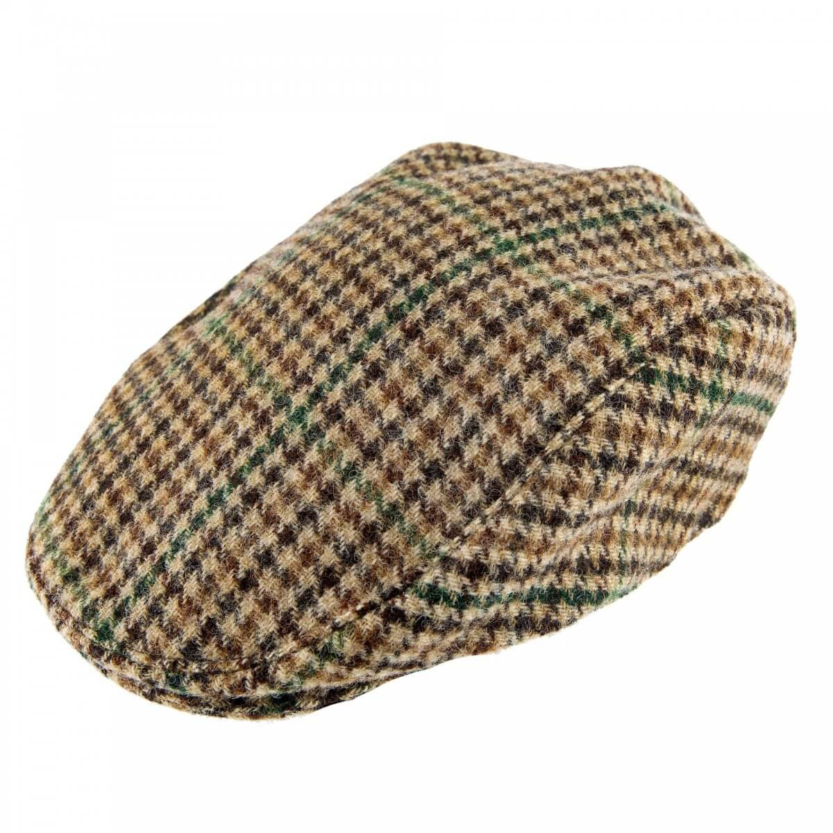 Yorkshire Dog Tooth Flat Cap