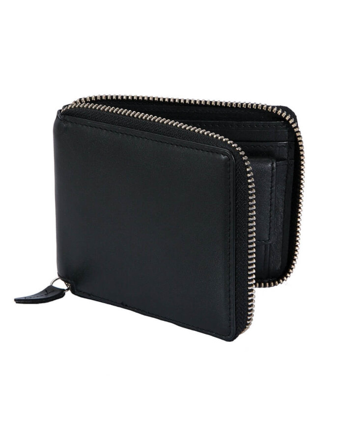 Dents Zipped Leather Wallet