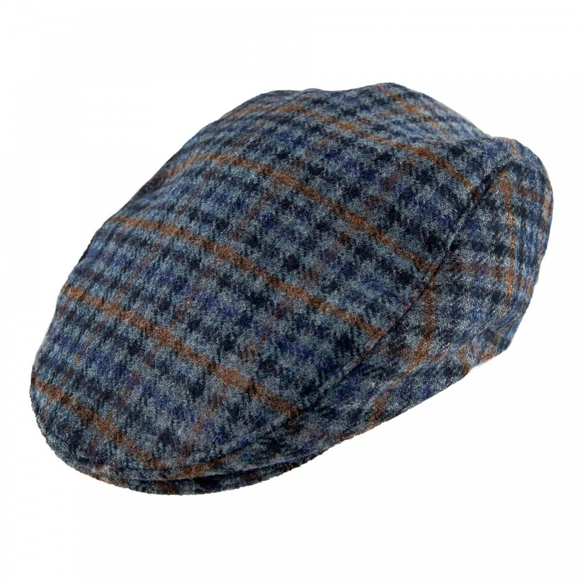 Abraham Mood Tweed Flat Cap
