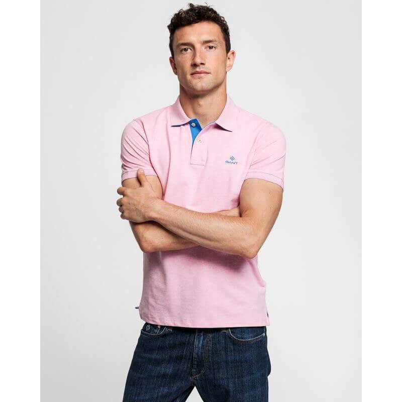 Gant Pink Rugger Polo
