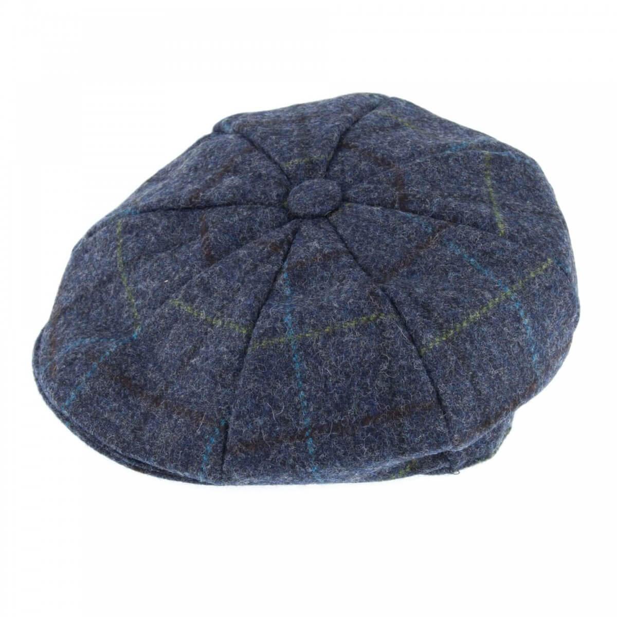 Abraham Mood Tweed 8 Piece Cap